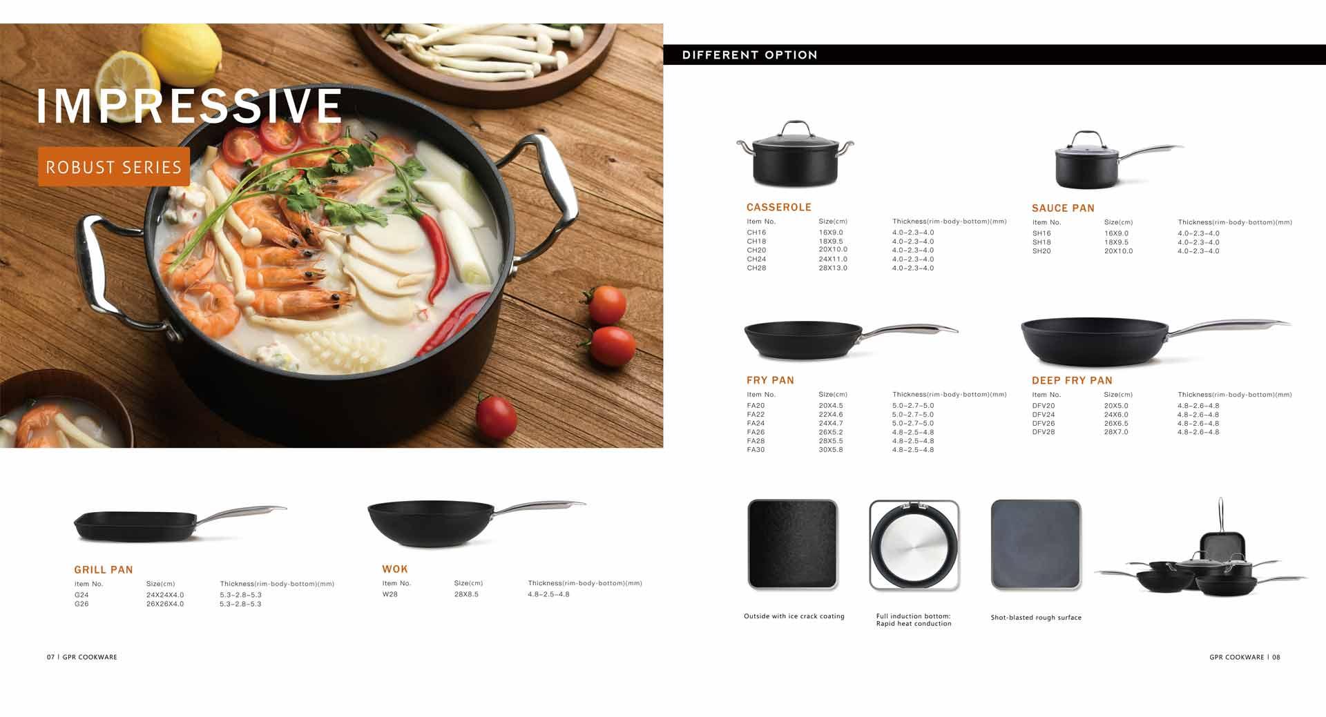 Impressive Series Cookware Set