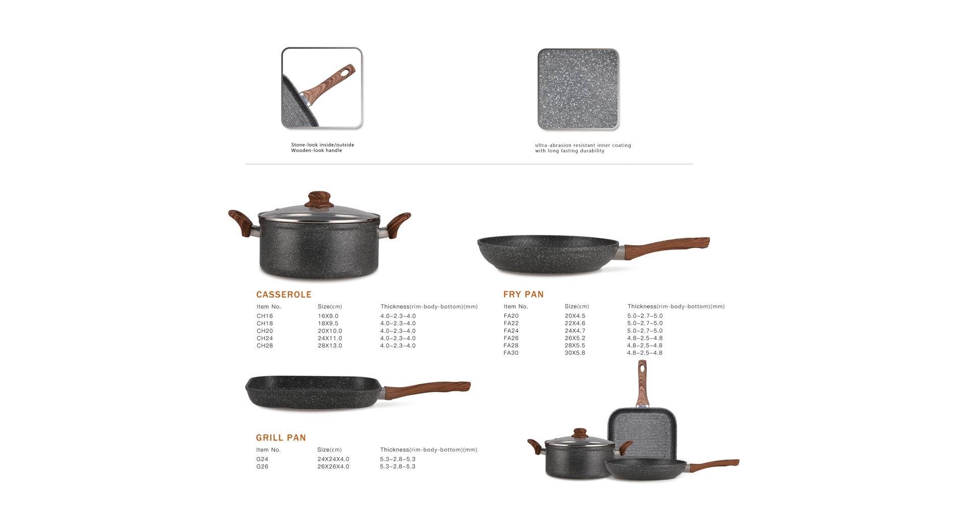 Natural Series Cookware Set