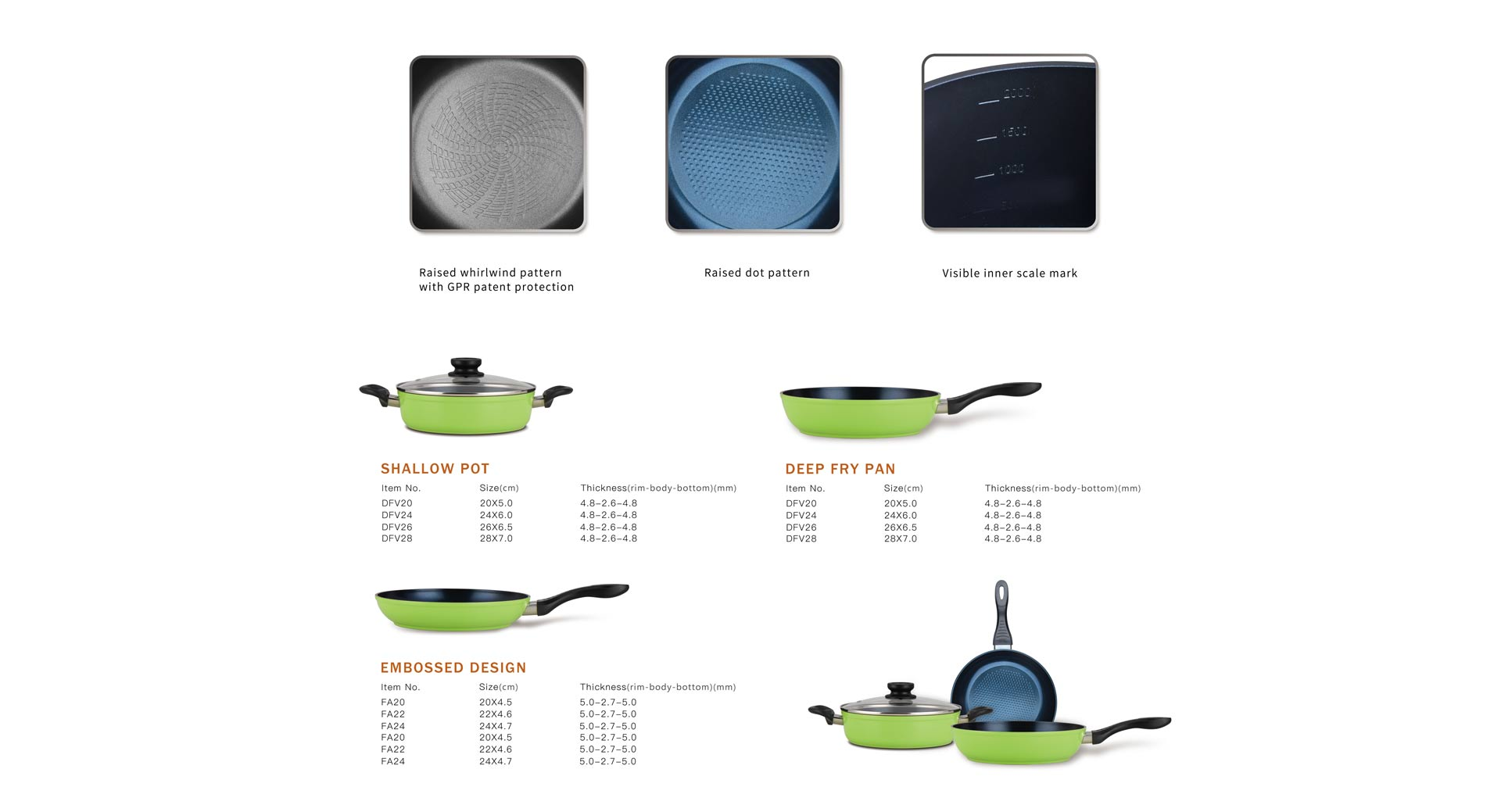 Silicone Series Cookware Set
