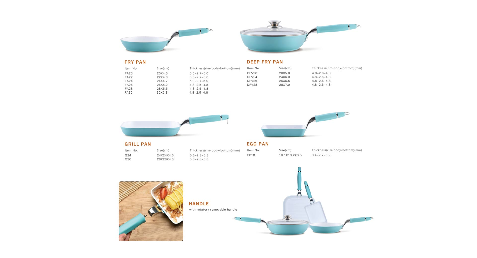 Spiral Series Cookware Set 1