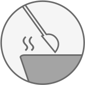 safe cooking icon